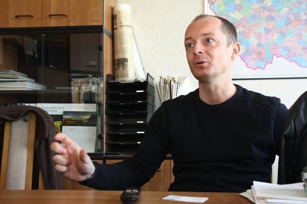 Jan Šíma z ministerstva životního prostředí nepředpokládá, že by se v oficiálním celoevropském seznamu zakázaných druhů zvířat objevili papoušci (Foto pro Ararauna.cz: Aleš Masner)