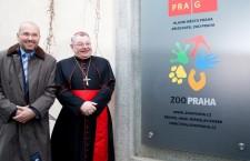 Pražská ZOO má nové logo, kardinál Duka adoptoval čtyři kardinály