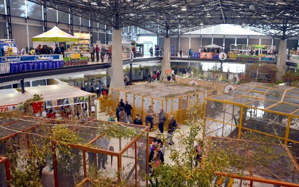 Celkový pohled do hlavního pavilonu A (Foto: Radomír Veselý, Nová Exota)