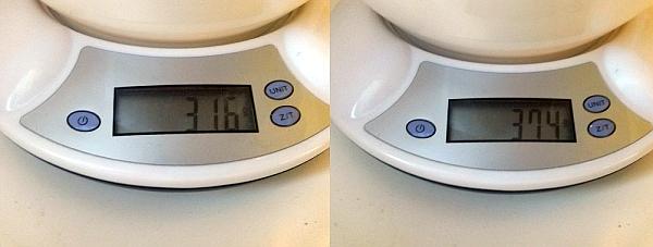 Váha malých žaků 11. února 2015
