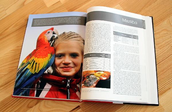 """Část knihy je věnovaná i """"mazlíčkářům"""" (Foto: Jan Potůček, Ararauna.cz)"""