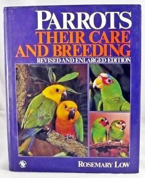 Anglický originál knihy Chov papoušků od Rosemary Low