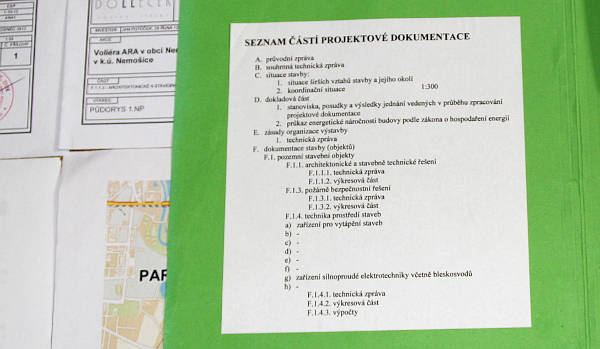 Co všechno je třeba mít v projektové dokumentaci, která je přílohou žádosti o vydání stavebního povolení (Foto: Jan Potůček, Ararauna.cz)