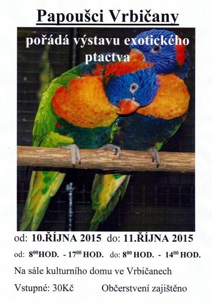 Výstava Vrbičany 2015