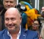 Venkovní voliéra pro papoušky společnosti Laguna si odbyla premiéru, slavnostně ji otevřel Michal David