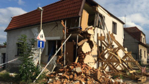 Zničený dům