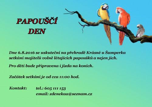 Papouščí den 2016