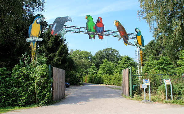 Vchod do zoologické zahrady Veldhoven (Foto: Jan Potůček, Ararauna.cz)
