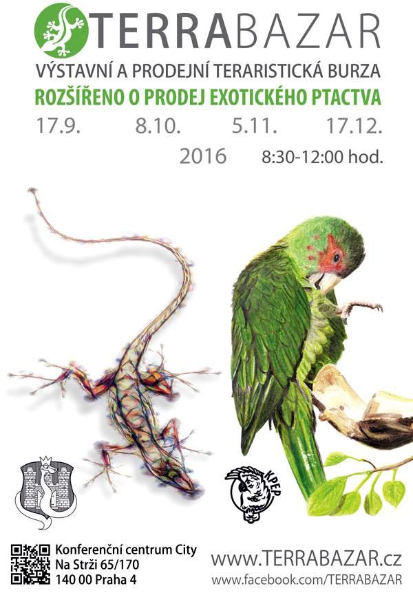 Pozvánka na první Terrabazar s ptačí sekcí od KPEP