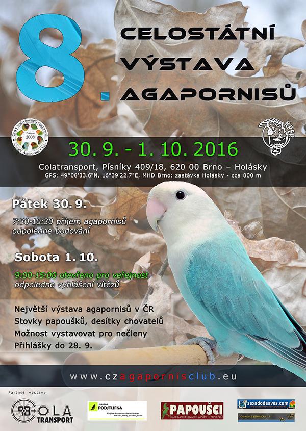 8. celostátní výstava agapornisů