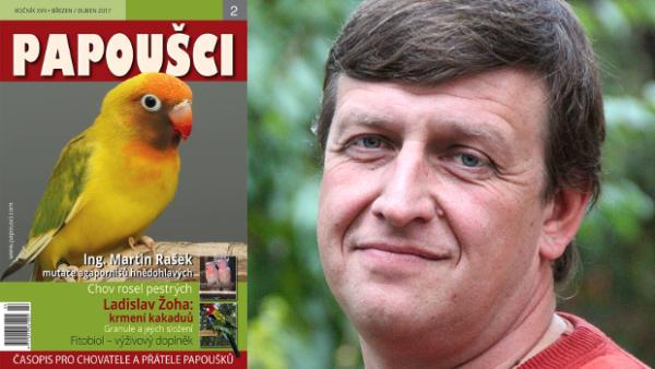 Časopis Papoušci má nového šéfredaktora, povede ho Ladislav Žoha