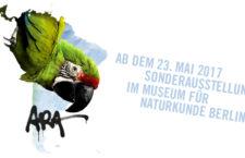 Unikátní výstava o papoušcích ara od 23. května v berlínském Muzeu přírodní historie