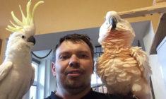 Václav Klaška: Nejsem příznivcem klecí, papouškům jsem věnoval celou jednu místnost